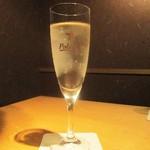 かこいや - スパークリングワイン。      2018.03.18