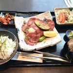 Matsunagabokujou - 直火焼きネギタン塩セット 1日10食限定 1100円
