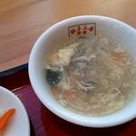 翠葉  - スープ