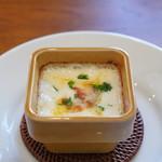 ドゥ プレジール - ブルーチーズのグラタン