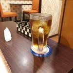 タイ料理 yummy bar - 「ウーロンハイ」(350円)
