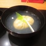かま田 - 蛤真丈の椀