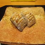 かま田 - 家内の焼き物は太刀魚