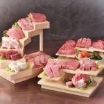 今治 焼肉 神戸 - 料理写真:神戸名物!階段盛り!【肉のらせん階段】【いいとこ取りセット】【カルネロッサ】