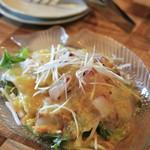 レストラン マコト - シェフセレクトのお魚サラダ