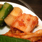 満月 - 前菜盛り合わせ(キムチ&ナムル)