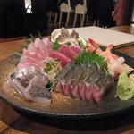 4番サード魚真 - おまかせ六点盛