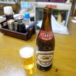 島田屋 - 瓶ビール500円+税