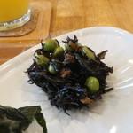 パニーノーニ - 芽ひじきの煮物