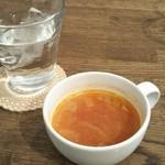 エルカミーノ - ランチに付いてます。スープはミネストローネ