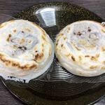 お石茶屋 - 梅ヶ枝餅1個120円