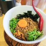 コムギ - 料理写真:「マゼソバ」(700円)。豪華なトッピング!