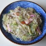 ドライブイン喜多 - 料理写真:皿うどん(太麺)@600