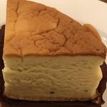 さかこし珈琲店 - ゴルゴンゾーラのチーズケーキ
