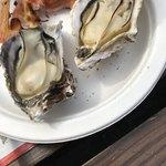 道の駅あいおい白龍城 - 料理写真:焼き牡蠣