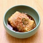 桃の花 - 揚げ出し豆腐