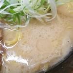 らーめん信玄 - 播磨スープ