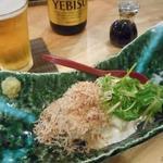 国分寺そば - 奴豆腐500円
