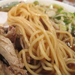 末廣ラーメン本舗 - チャーシュー麺のアップ