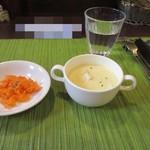 喜平 - サラダとスープ