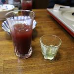 朝起 - すっぽんの生き血ジュース、胆汁焼酎