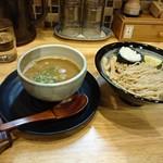 麺匠 たか松 - つけ麺(鶏魚介)並盛