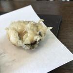 天ぷら かわ清 - 天ぷら定食 牡蠣