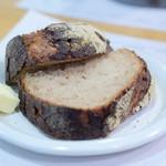 ローズベーカリー - 【季節野菜のキッシュ グリーンサラダ付@税込1,380円】セットのパン