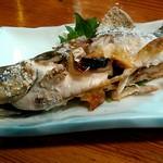 Shinzan - 岩魚塩焼き