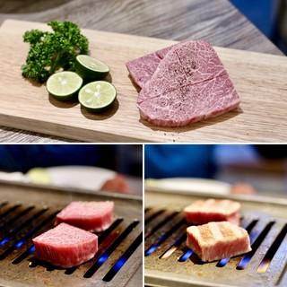 焼肉・冷麺 二郎 本店 - 三河牛A5 BMS12 シャトーブリアンステーキ
