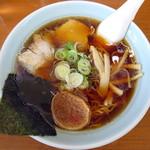 ラーメンのと金 - 料理写真:正油ラーメン_550円