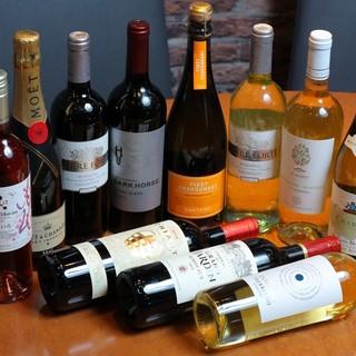豊富なワインたち