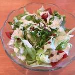 カレーの木 - サラダ
