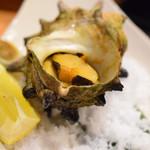 博多割烹 水音 - サザエの壺焼きも美味い!