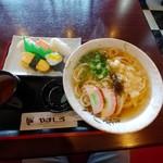 レストラン やましろ - 料理写真:ミニにぎり寿司うどん定食920円(税込)