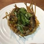 あなぐま亭 - 料理写真:昼呑みセット(砂肝の辣油マリネ)