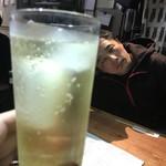 あなぐま亭 - 〆はハイボールと途中参加な日名田店主w