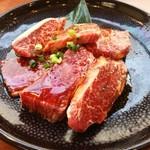焼肉 山河 - 和牛トウガラシ 初めて食べたかも!