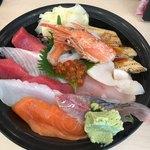 すしざんまい - 海鮮ちらし丼1500円