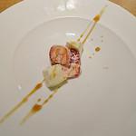 アベー - 苺とモッツァレラチーズ~白バルサミコ酢ソース~