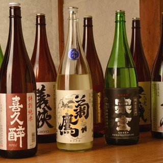 -地酒-店主厳選の純米酒と季節料理の一期一会。
