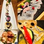 にかいのおねぎや 笹木 - 魚料理も豊富です