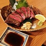 お肉とお魚 まつり - 和牛レア焼き