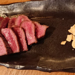 お肉とお魚 まつり - 牛タン藁焼き