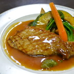 ゆう和 - 庄内豚ロース肉網焼き