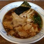 らーめん ヒグマ - 醤油ラーメン(薄味) 650円