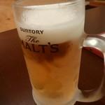 石垣酒場 肉まる - ビール