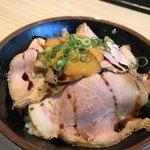 姫路麺哲 - 薄切り豚丼600円♫