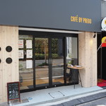 カフェバイプレゴ - 入口