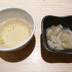 北海道海鮮にほんいち - お通しとお出汁